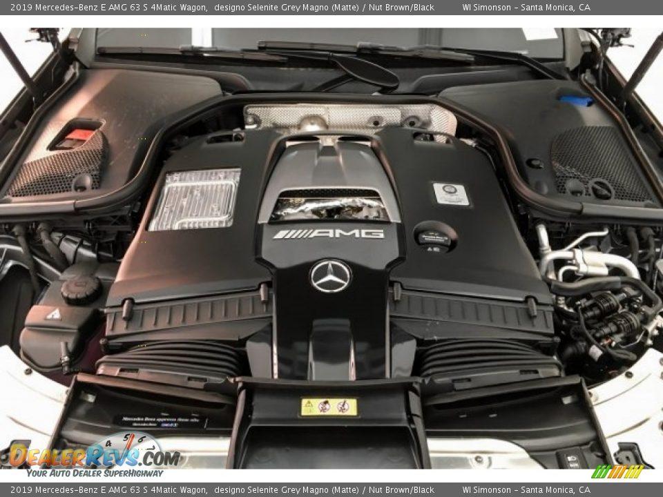 2019 Mercedes-Benz E AMG 63 S 4Matic Wagon 4.0 Liter AMG biturbo DOHC 32-Valve VVT V8 Engine Photo #8