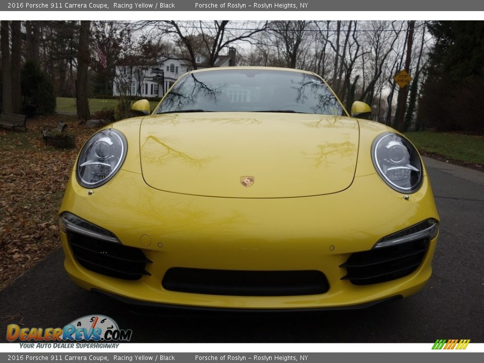 2016 Porsche 911 Carrera Coupe Racing Yellow / Black Photo #2