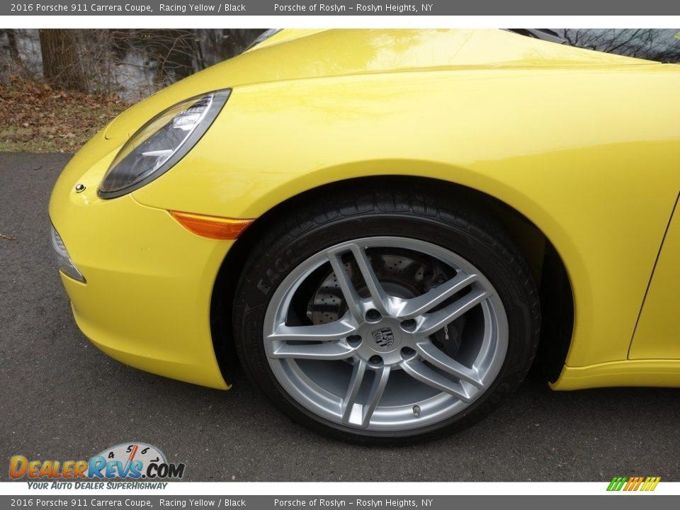 2016 Porsche 911 Carrera Coupe Wheel Photo #9