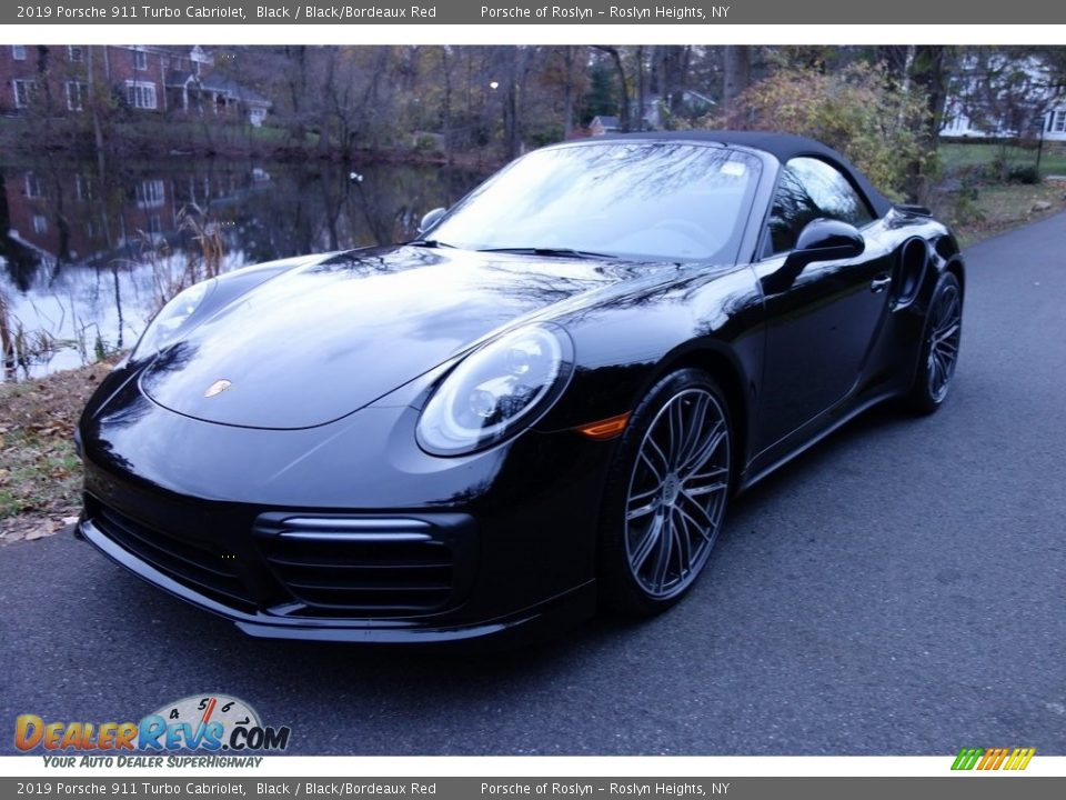 Front 3/4 View of 2019 Porsche 911 Turbo Cabriolet Photo #8