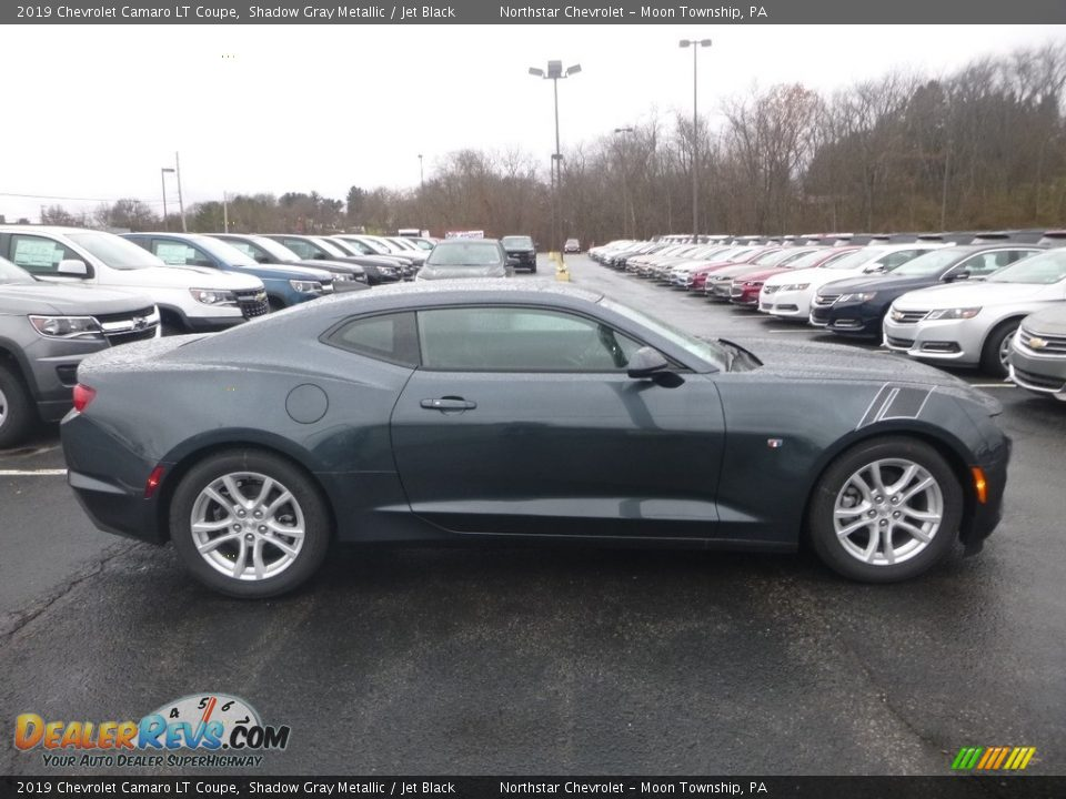 Shadow Gray Metallic 2019 Chevrolet Camaro LT Coupe Photo #6