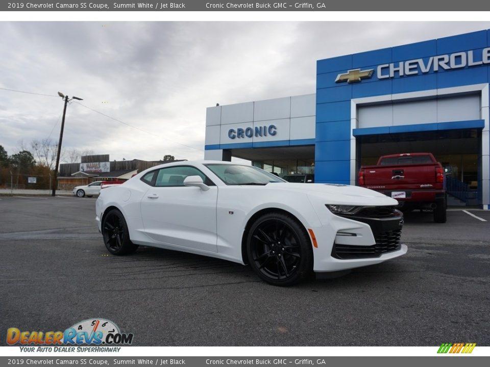 2019 Chevrolet Camaro SS Coupe Summit White / Jet Black Photo #1