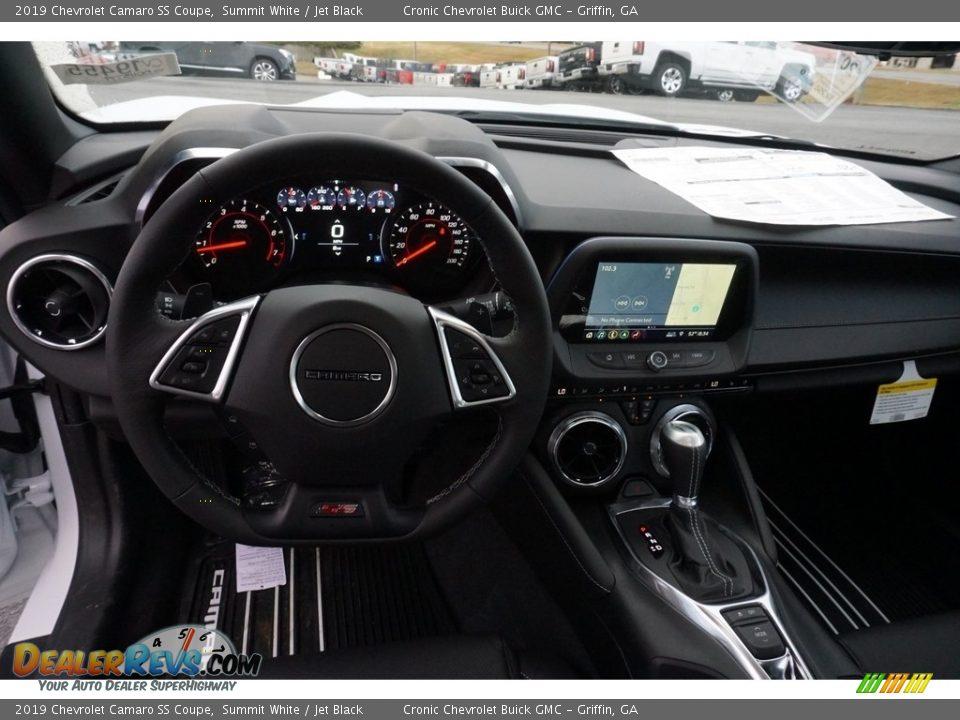 2019 Chevrolet Camaro SS Coupe Summit White / Jet Black Photo #5