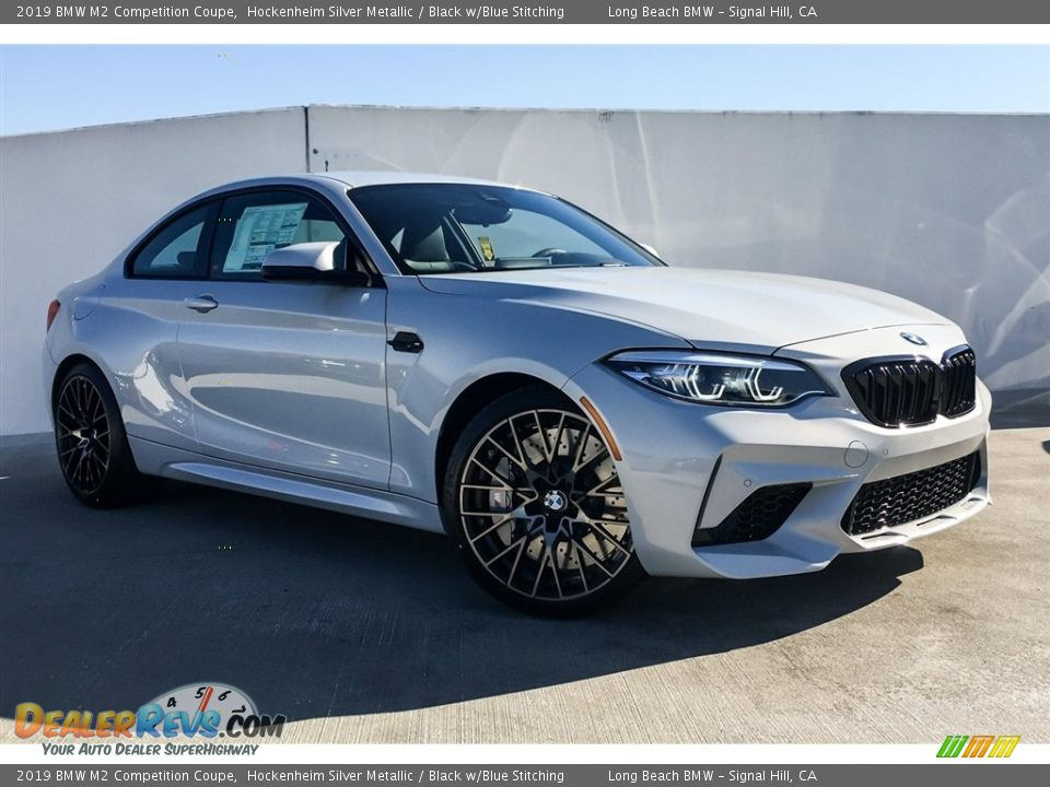 Front 3/4 View of 2019 BMW M2 Competition Coupe Photo #12