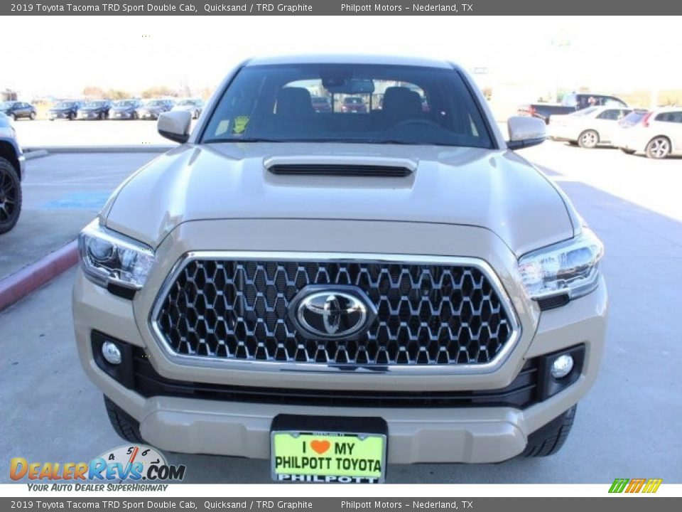 2019 Toyota Tacoma TRD Sport Double Cab 4x4 Quicksand / TRD Graphite Photo #3