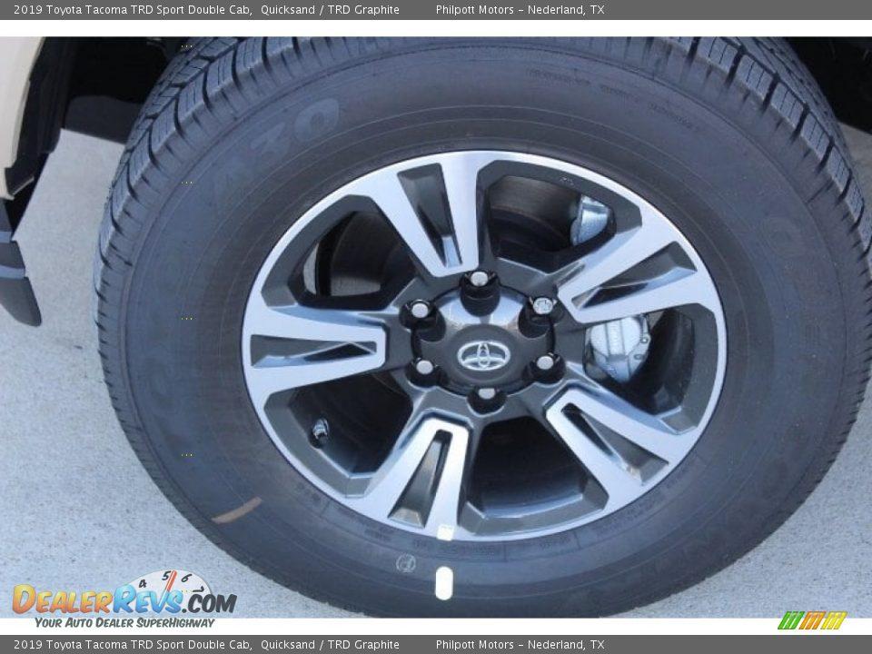 2019 Toyota Tacoma TRD Sport Double Cab 4x4 Wheel Photo #5