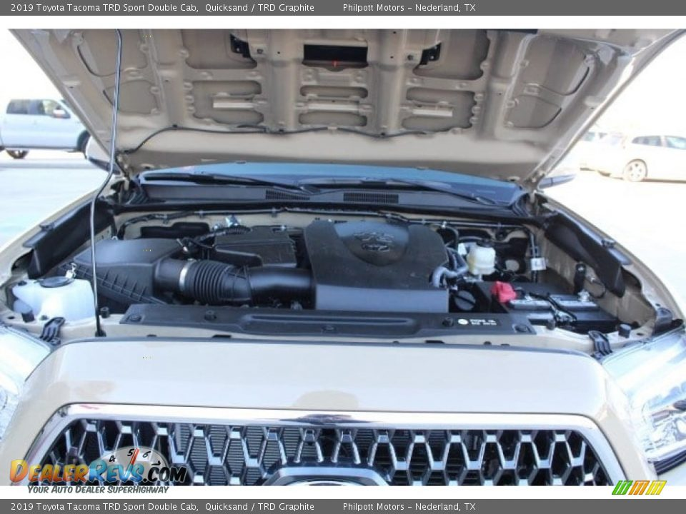 2019 Toyota Tacoma TRD Sport Double Cab 4x4 Quicksand / TRD Graphite Photo #23