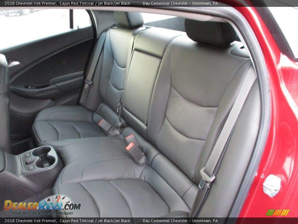 2018 Chevrolet Volt Premier Cajun Red Tintcoat / Jet Black/Jet Black Photo #12