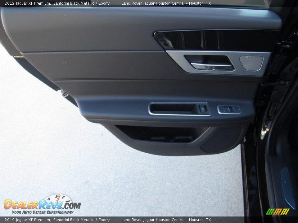Door Panel of 2019 Jaguar XF Premium Photo #22