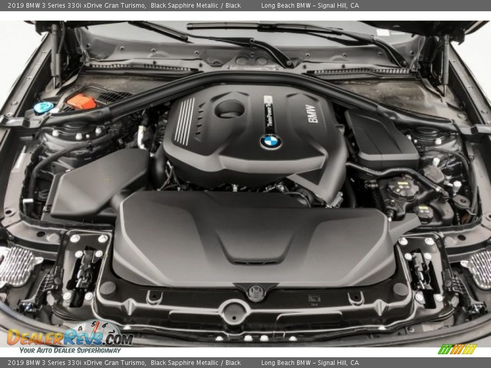 2019 BMW 3 Series 330i xDrive Gran Turismo 2.0 Liter DI TwinPower Turbocharged DOHC 16-Valve VVT 4 Cylinder Engine Photo #8