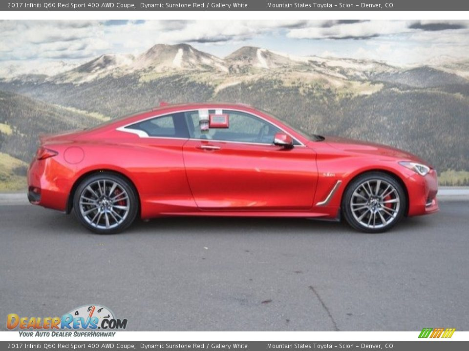 Dynamic Sunstone Red 2017 Infiniti Q60 Red Sport 400 AWD Coupe Photo #2