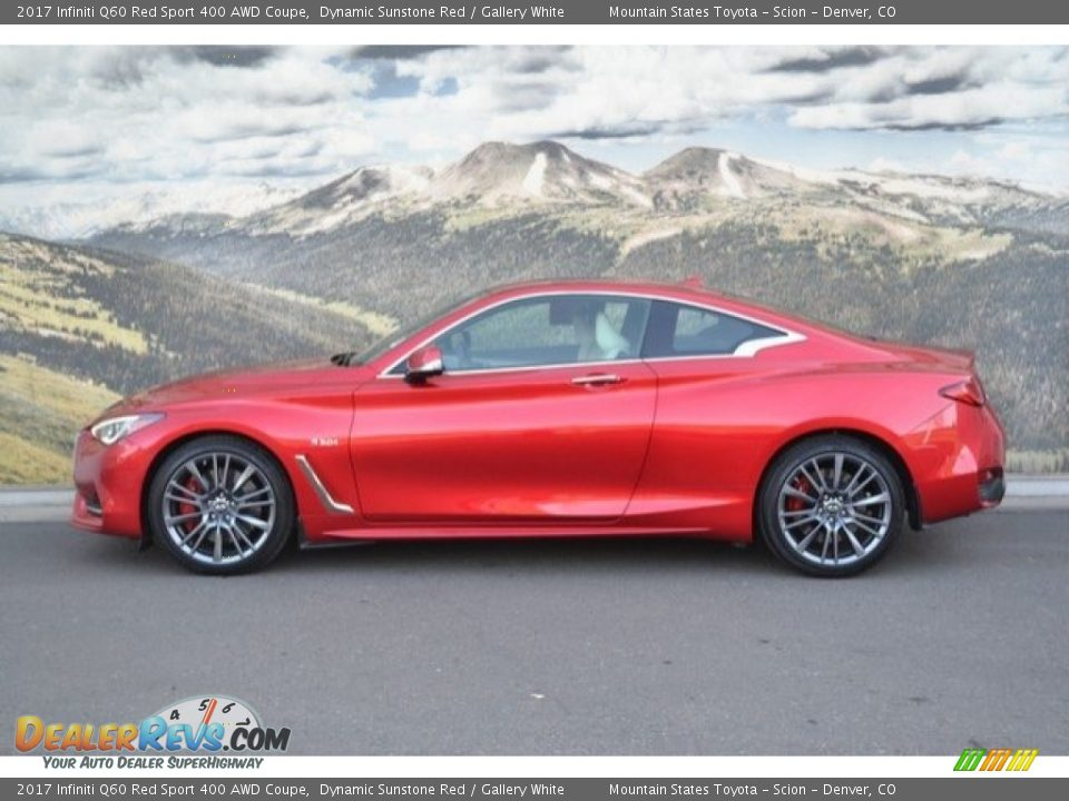 Dynamic Sunstone Red 2017 Infiniti Q60 Red Sport 400 AWD Coupe Photo #6