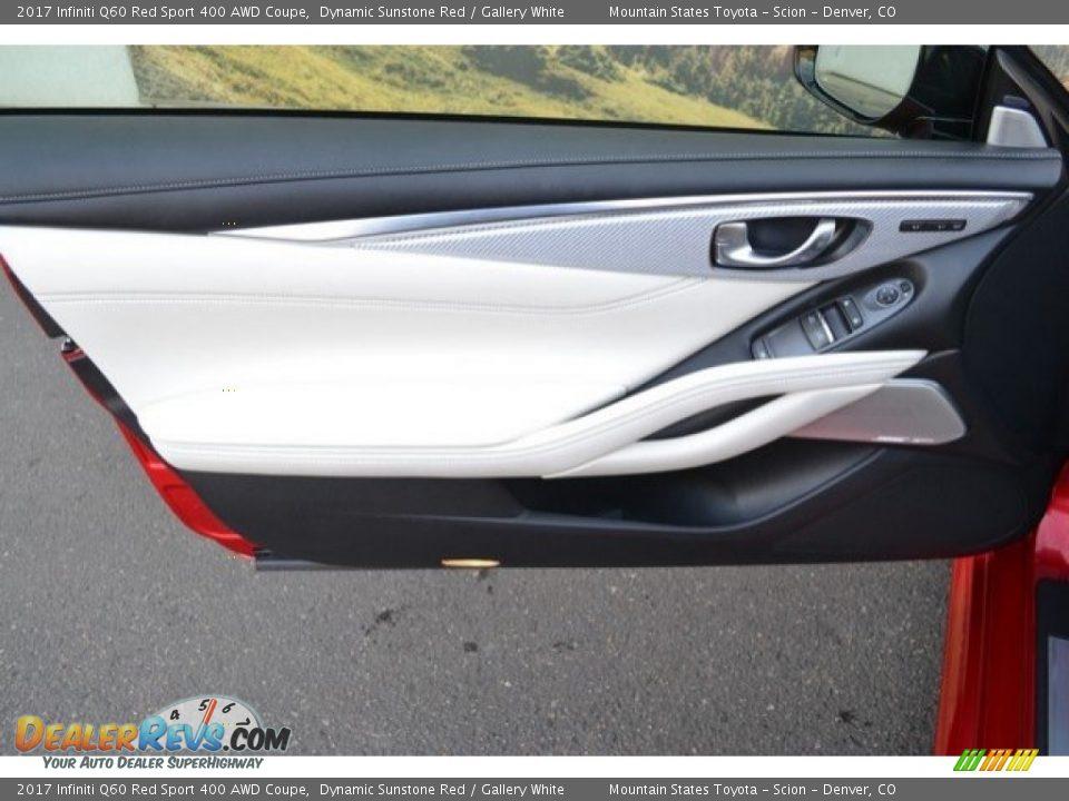 Door Panel of 2017 Infiniti Q60 Red Sport 400 AWD Coupe Photo #25