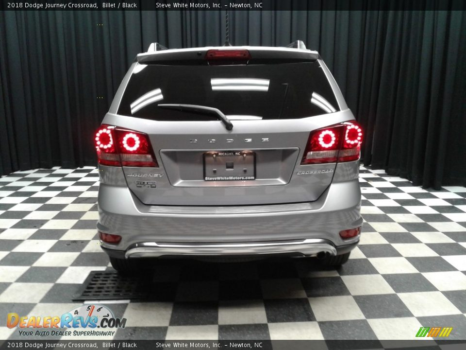 2018 Dodge Journey Crossroad Billet / Black Photo #7