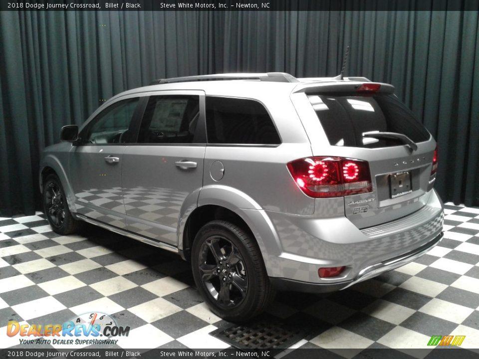 2018 Dodge Journey Crossroad Billet / Black Photo #8