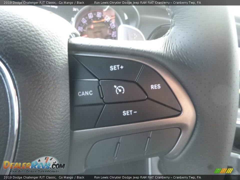 2019 Dodge Challenger R/T Classic Steering Wheel Photo #19