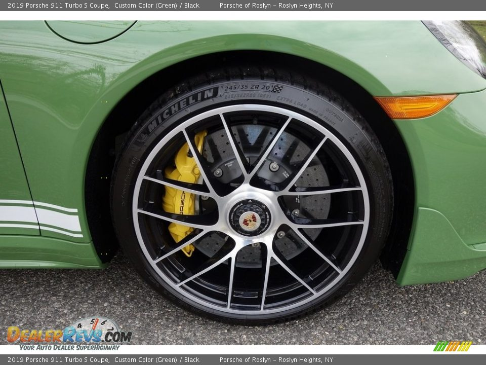 2019 Porsche 911 Turbo S Coupe Wheel Photo #10