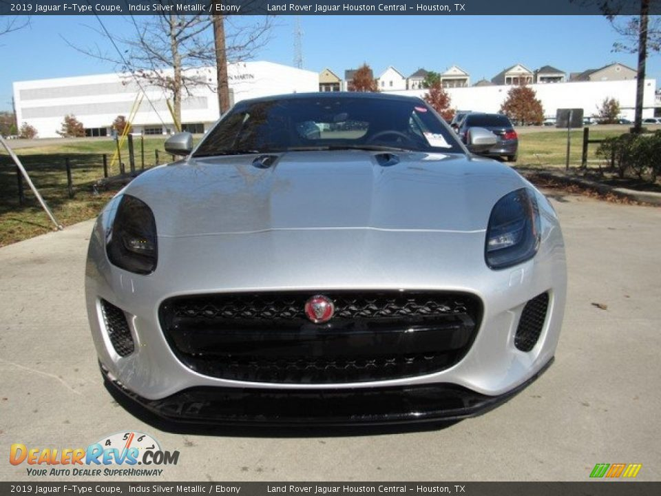 2019 Jaguar F-Type Coupe Indus Silver Metallic / Ebony Photo #9
