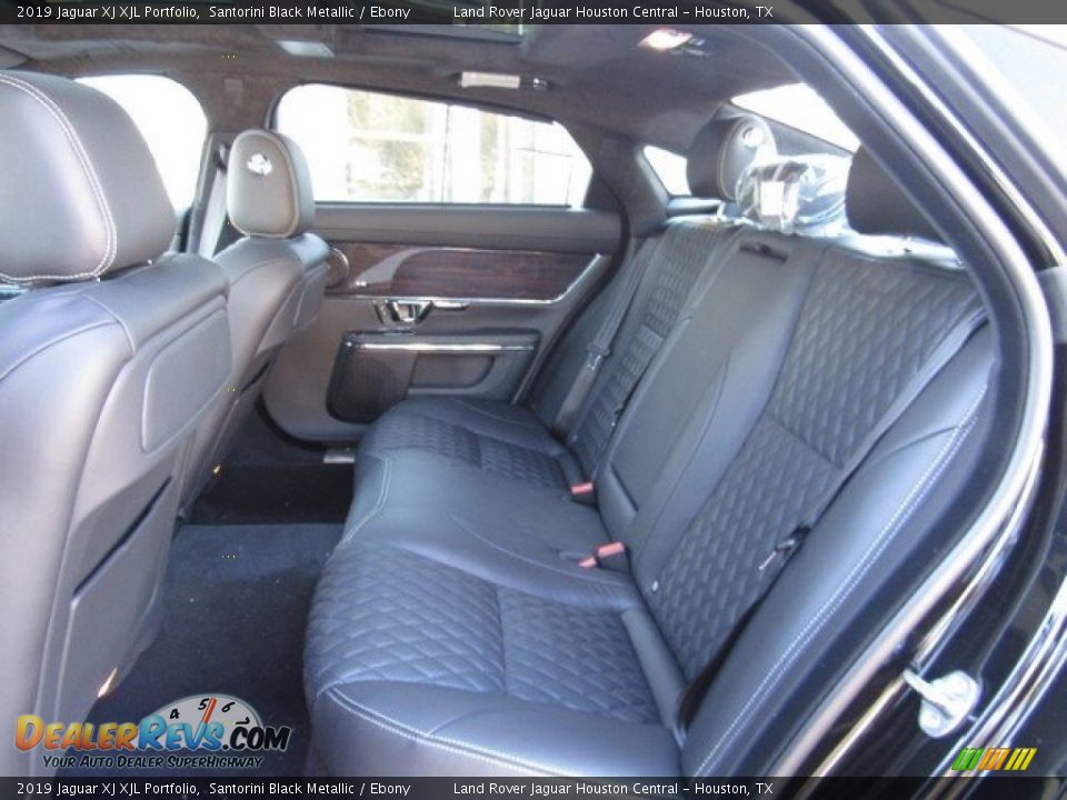 Rear Seat of 2019 Jaguar XJ XJL Portfolio Photo #13