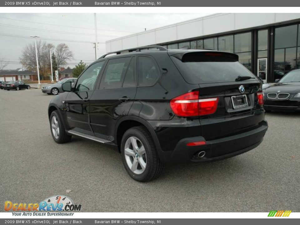 2009 Bmw X5 Xdrive30i Jet Black Black Photo 3 Dealerrevs Com