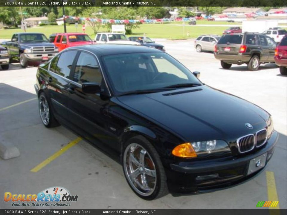 2000 bmw 3 series 328i sedan jet black black photo 3. Black Bedroom Furniture Sets. Home Design Ideas