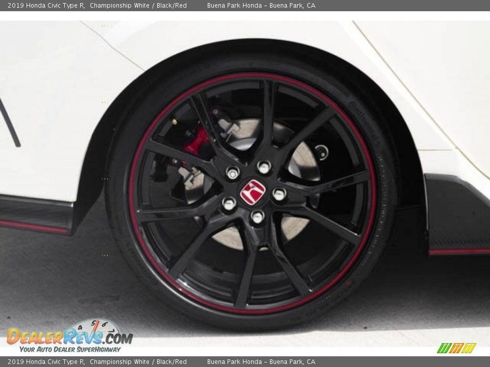 2019 Honda Civic Type R Wheel Photo #12