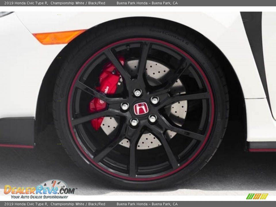 2019 Honda Civic Type R Wheel Photo #14