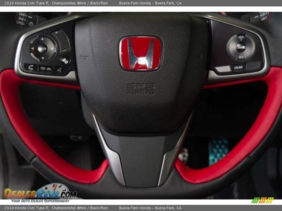 2019 Honda Civic Type R Steering Wheel Photo #21