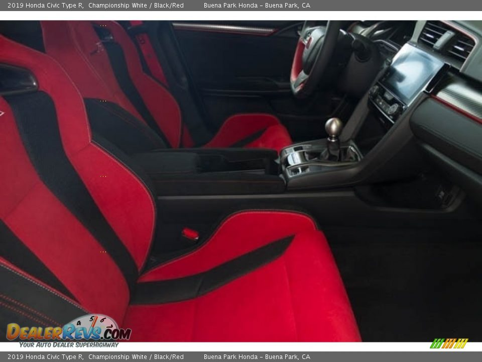 2019 Honda Civic Type R Championship White / Black/Red Photo #29
