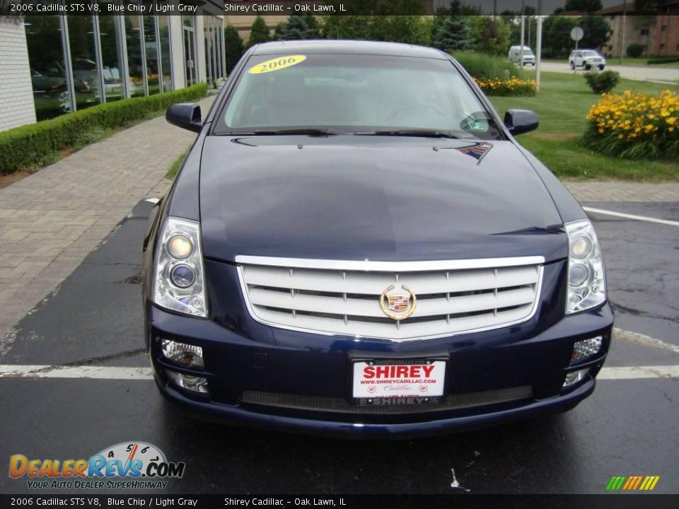 2006 Cadillac STS V8 Blue Chip / Light Gray Photo #2