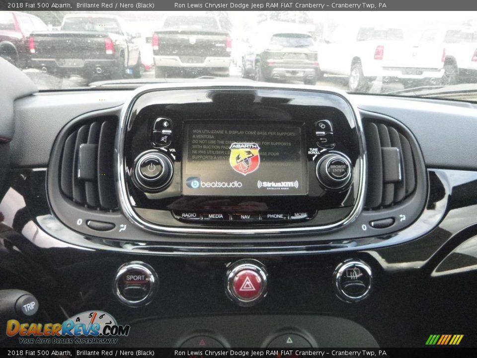 Controls of 2018 Fiat 500 Abarth Photo #17