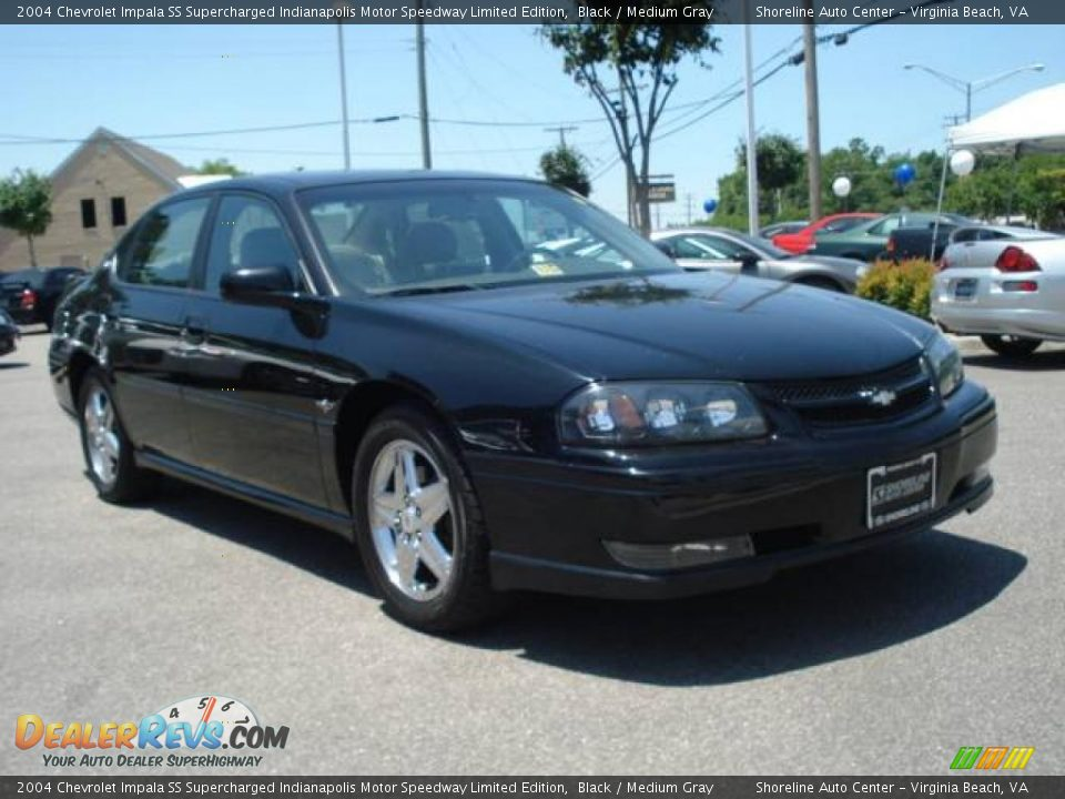 2004 chevrolet impala ss supercharged indianapolis motor speedway limited edition black medium. Black Bedroom Furniture Sets. Home Design Ideas