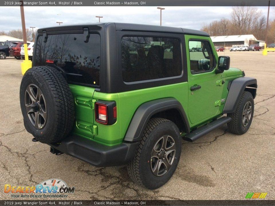 2019 Jeep Wrangler Sport 4x4 Mojito! / Black Photo #6
