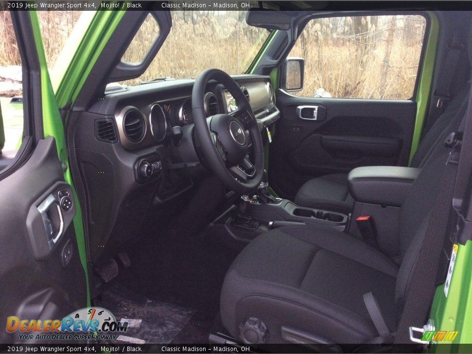 2019 Jeep Wrangler Sport 4x4 Mojito! / Black Photo #9