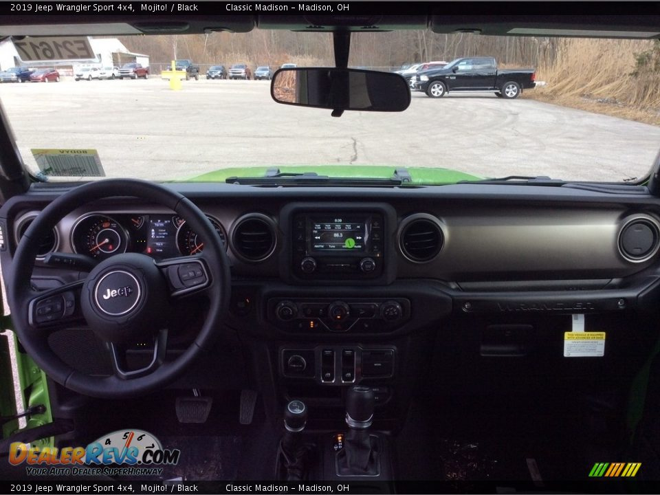2019 Jeep Wrangler Sport 4x4 Mojito! / Black Photo #11