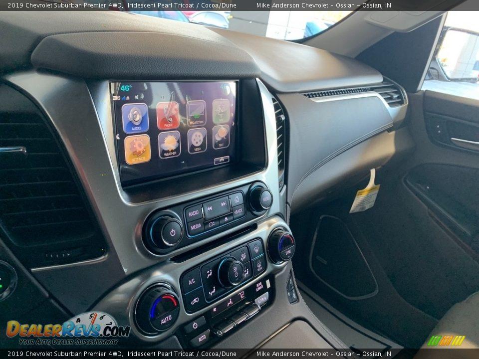 2019 Chevrolet Suburban Premier 4WD Iridescent Pearl Tricoat / Cocoa/Dune Photo #12