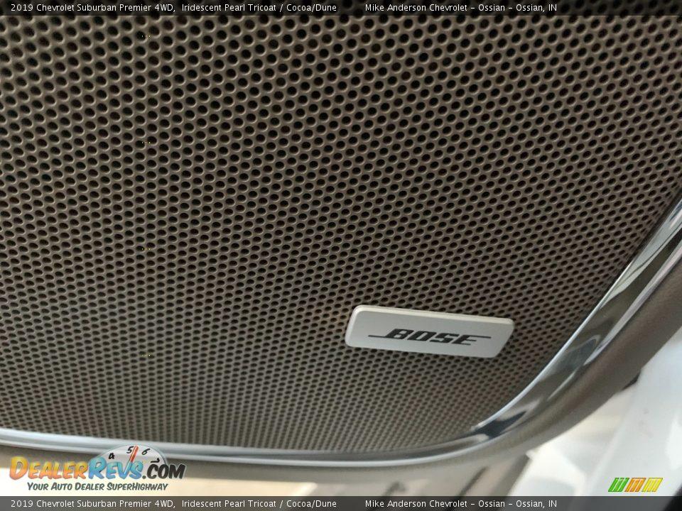 2019 Chevrolet Suburban Premier 4WD Iridescent Pearl Tricoat / Cocoa/Dune Photo #20