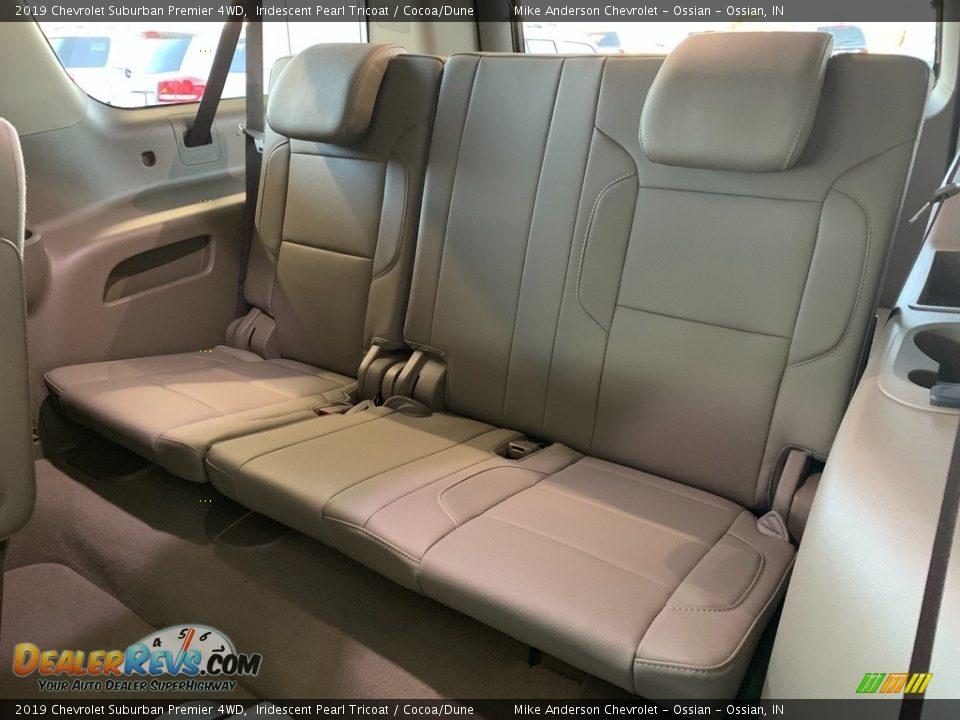 2019 Chevrolet Suburban Premier 4WD Iridescent Pearl Tricoat / Cocoa/Dune Photo #27