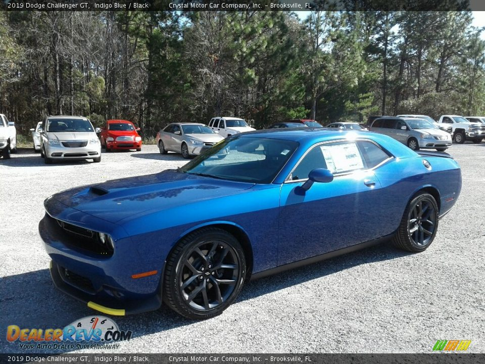 2019 Dodge Challenger GT Indigo Blue / Black Photo #1