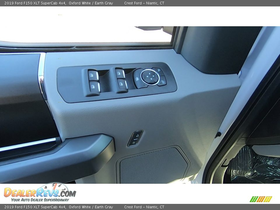 2019 Ford F150 XLT SuperCab 4x4 Oxford White / Earth Gray Photo #12