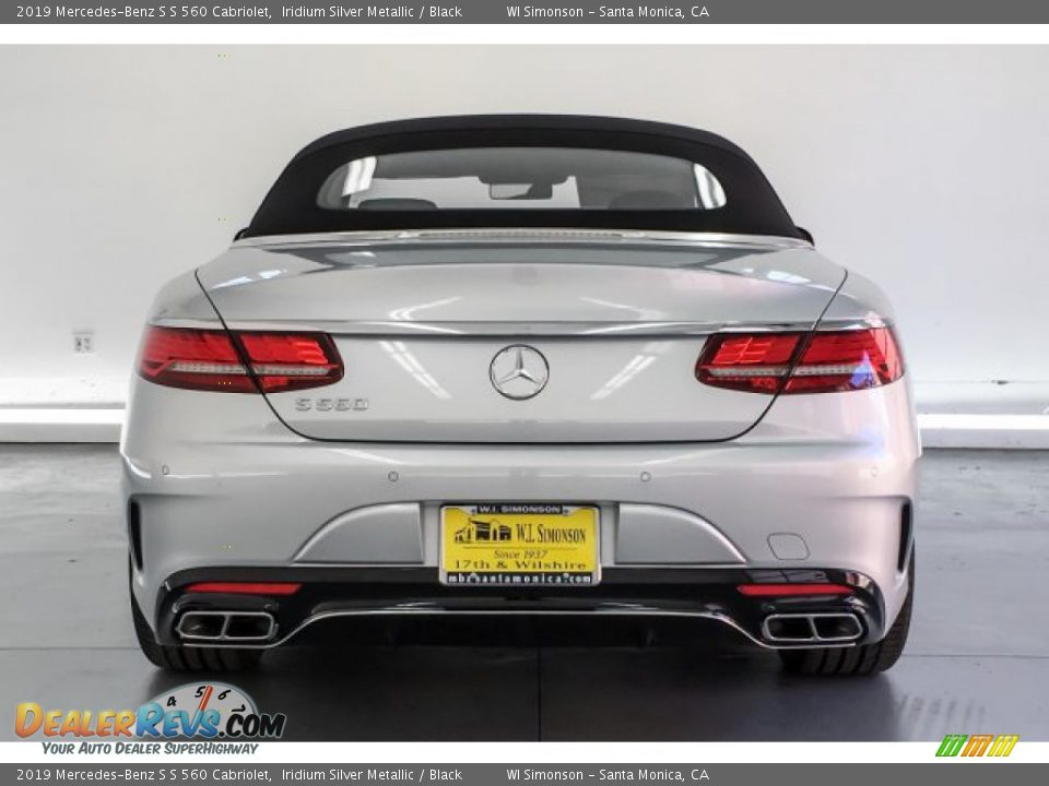 2019 Mercedes-Benz S S 560 Cabriolet Iridium Silver Metallic / Black Photo #3