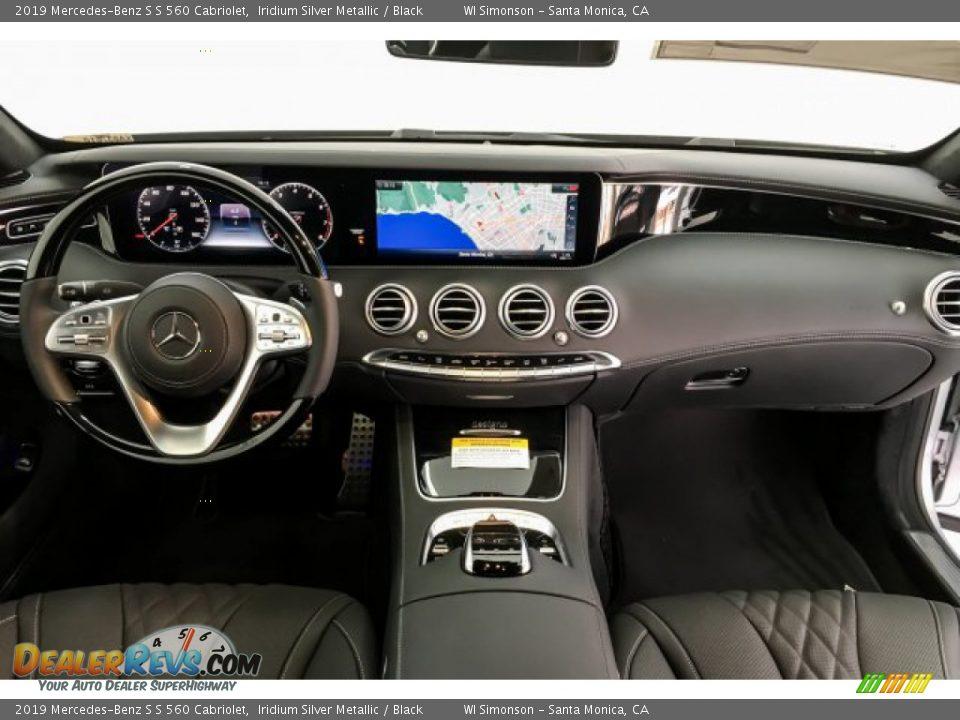 2019 Mercedes-Benz S S 560 Cabriolet Iridium Silver Metallic / Black Photo #18