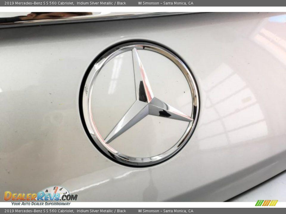 2019 Mercedes-Benz S S 560 Cabriolet Iridium Silver Metallic / Black Photo #28