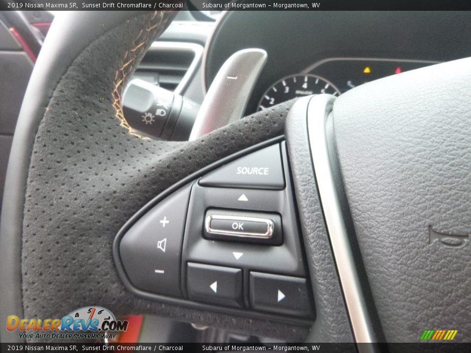 2019 Nissan Maxima SR Steering Wheel Photo #18