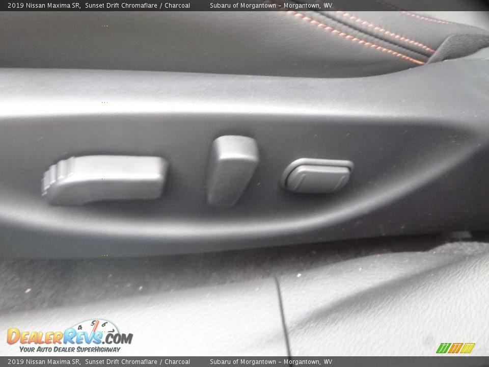 2019 Nissan Maxima SR Sunset Drift Chromaflare / Charcoal Photo #20
