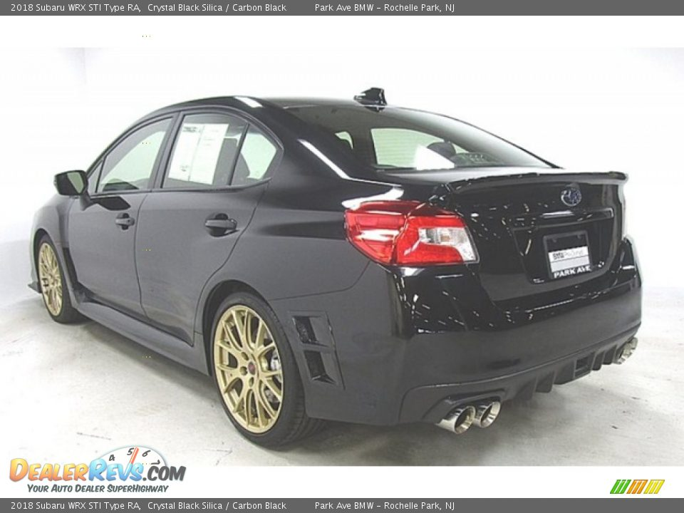 2018 Subaru WRX STI Type RA Crystal Black Silica / Carbon Black Photo #2