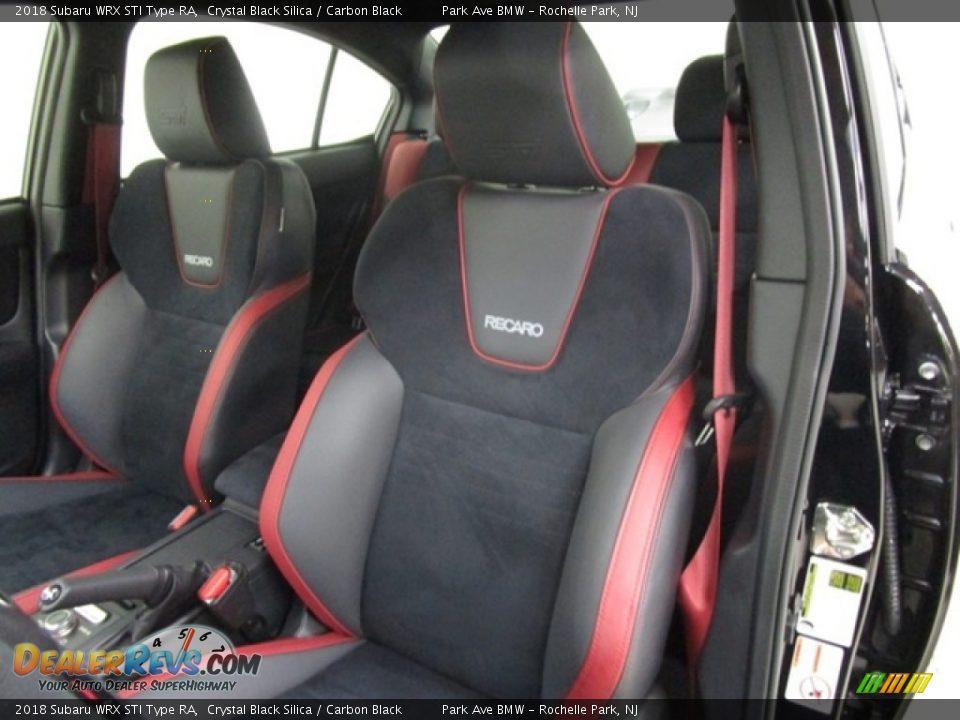 Front Seat of 2018 Subaru WRX STI Type RA Photo #8