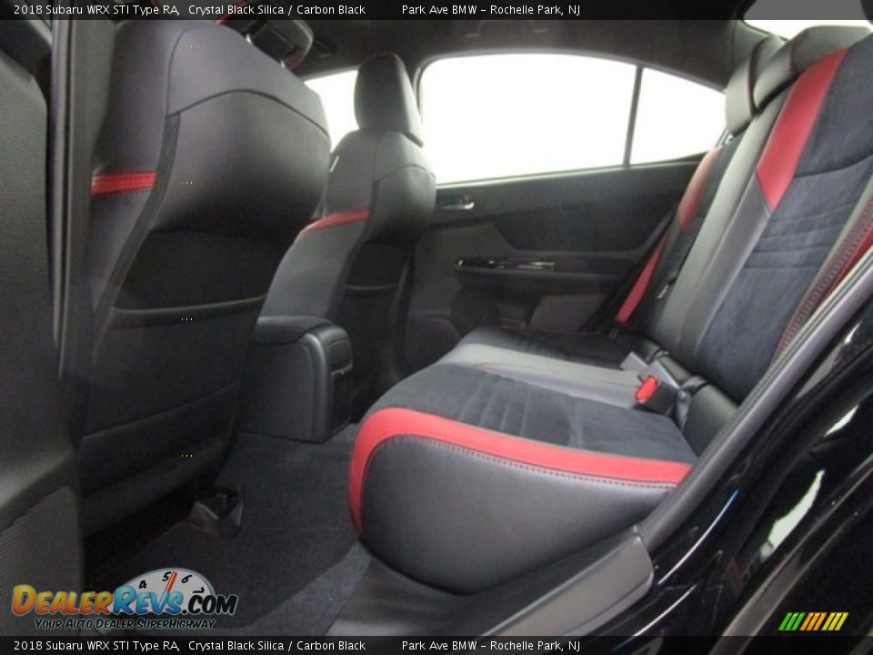 Rear Seat of 2018 Subaru WRX STI Type RA Photo #12