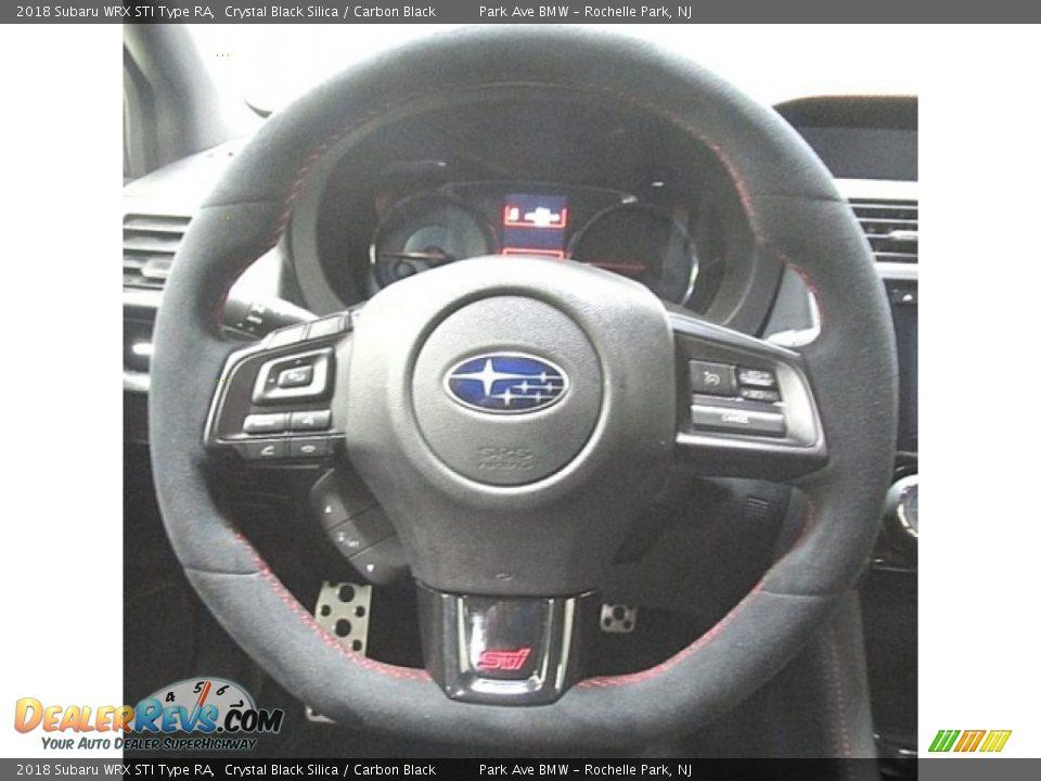 2018 Subaru WRX STI Type RA Steering Wheel Photo #22