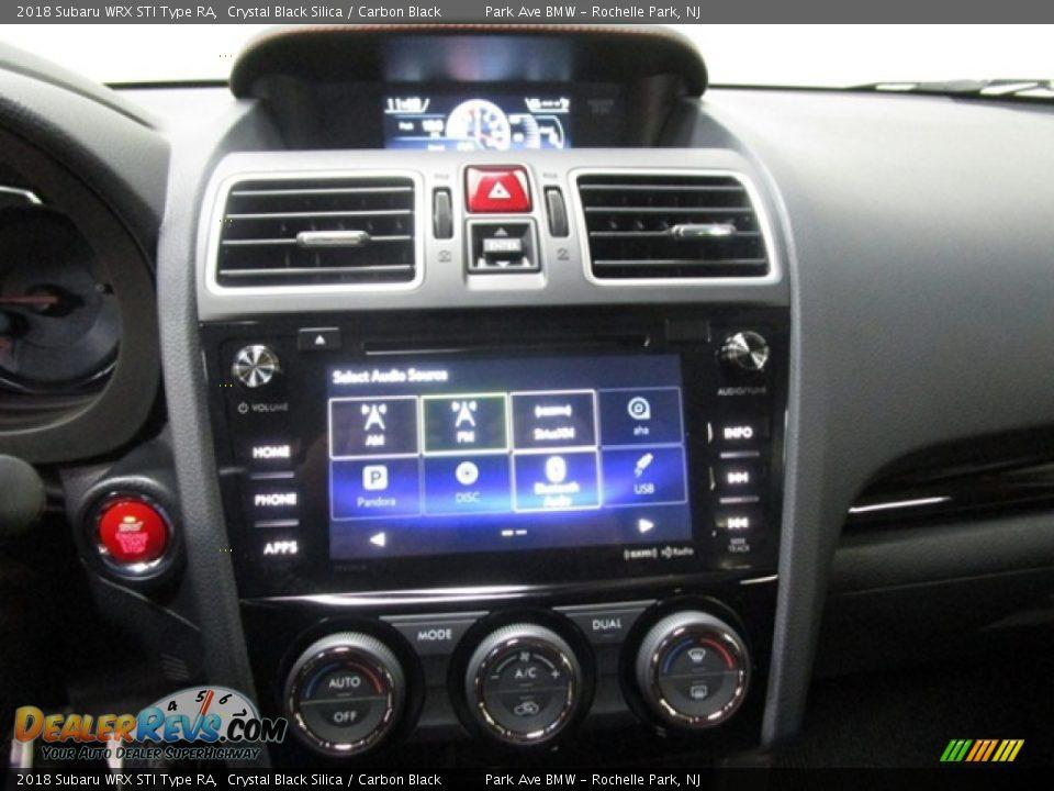 Controls of 2018 Subaru WRX STI Type RA Photo #24
